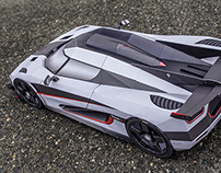 Koenigsegg One:1 Paper-Mega-Craft