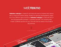 Webtekno Creative Re-design