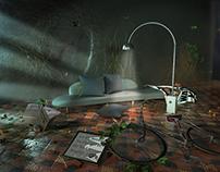 The Destructive Voyeur. Idea VIZ. 3Ds Max & Vray