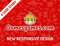 GamesGames.com         responsive web design