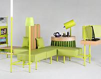 Ibis Styles, Furniture modules