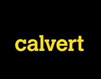 Calvert - A short typeface film
