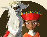 Inca Girl