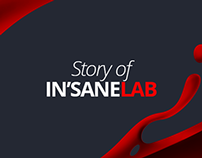 In'saneLab's branding development process