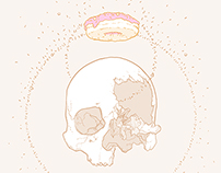 Skull Study II (Sprinkles)
