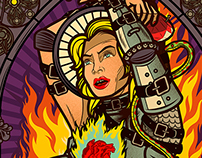 Madonna: Up in Flames (Billboard mag, 21 Feb., 2015)