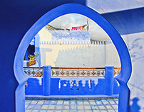"Chefchouen ""Blue city"", Morocco"