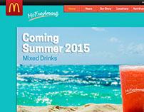 WIP - McDonald's Alcohol Website