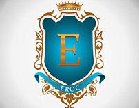 logo creation for EROC Clothings.