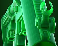 EXD37 - Grenade Launcher - SDS Modeling