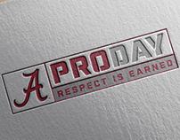 Alabama Pro Day Apparel Logo