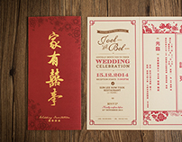 Wedding Invitation Design Collection