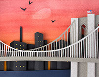 The Paper Brooklyn Bridge