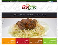 Profero Pasta - Web design & Developing