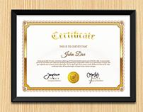 Multi Purpose Certificates Template Vol.4