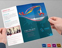 Viridx Business Tri-Fold Brochure
