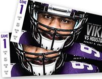 2013 Minnesota Vikings Season Tickets