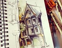 Architecture sketches #1