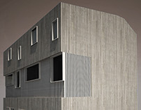 Housing in Paris area. Two triplex