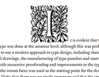 Initial for Typejournal