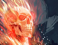 GHOST RIDER by Javier G. Pacheco
