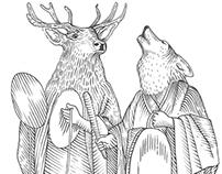 Perm animal style