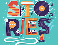 Stories (Lettering & Animation)