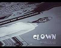 Clown backstage video