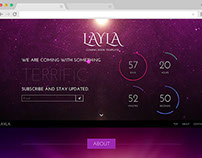 Layla - A Free Responsive Coming Soon Template