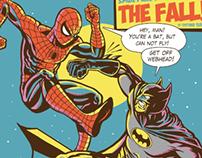 Spider vs Batman - C2E2 Chicago Comic & Expo 2014