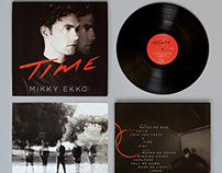 Design studio Leviathan packages Mikky Ekko's Time