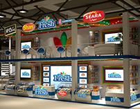 Farm Fresh exhibition design - Gulf Food 2015 - Dubai,
