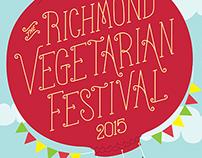 Richmond Vegetarian Festival 2015 Poster