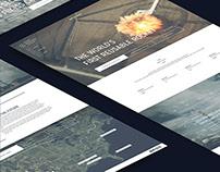 Space X Website Redesign