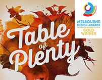Table of Plenty - Melbourne Design Award Winner