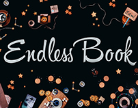 Endless Book: outer space and cookies