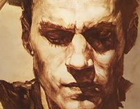 Henry Cavill portrait,