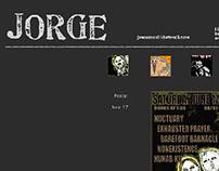 Jorge's Portfolio Site