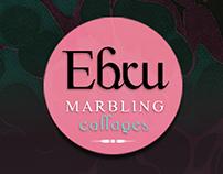 Ebru::Marbling Collages