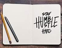 Hustle Hard / Apparel Design