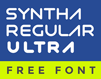 Syntha Regular & Ultra Free Fonts