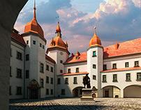 virtual model of City of Fortress of Kostrzyn