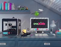 DeAKids /// Channel Rebrand