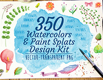 Watercolor Designer Kit