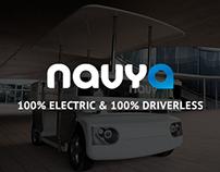 Navya - The Driverless Shuttle - Website Redesign