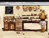 Sütimizéria webdesign (updated)