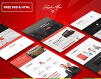 KreFolio – Startup Agency Landing Page. Free