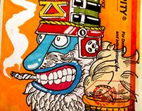 Sticker Sketchbook - Vol. I
