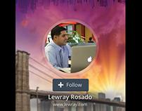 Behance Mobile App for Lewray Rosado