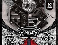 Guest DJ Flyer Poster